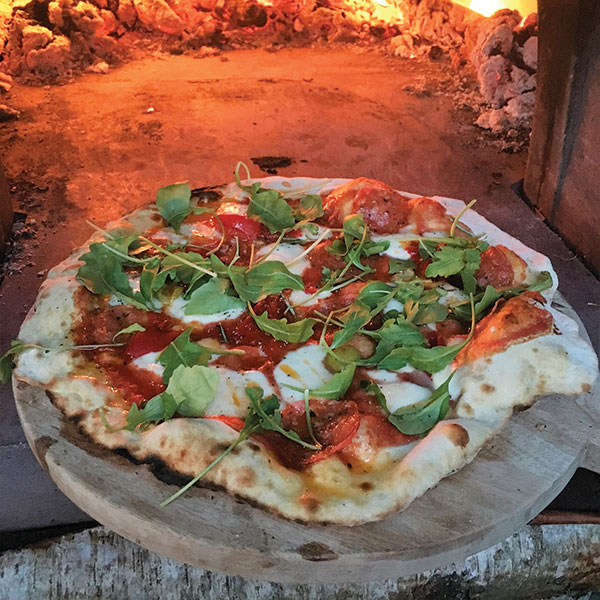 Woodfired Pizza