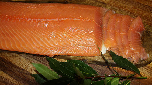woodfired smoked salmon