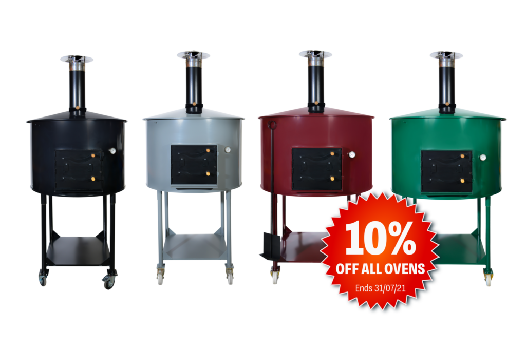 10% off commercial pizza ovens